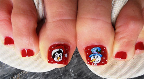 Amazing-Toe-Nail-Art-Designs-Ideas-For-Beginners-Learners-2013-2014-5