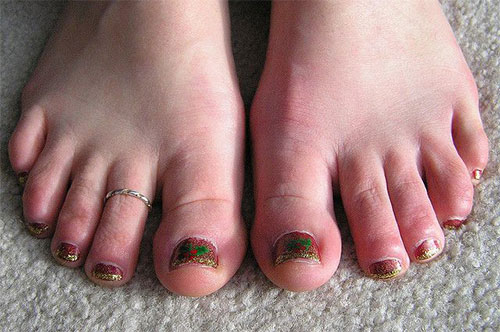 Amazing-Toe-Nail-Art-Designs-Ideas-For-Beginners-Learners-2013-2014-6