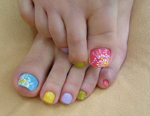 Amazing-Toe-Nail-Art-Designs-Ideas-For-Beginners-Learners-2013-2014-8