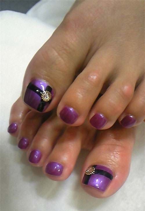 Amazing-Toe-Nail-Art-Designs-Ideas-For-Beginners-Learners-2013-2014-9