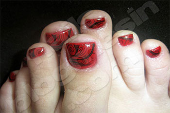 Best-New-Year-Toe-Nail-Art-Designs-Ideas-2013-2014-10