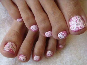 Best new year toe nail art designs ideas 2013 2014 fabulous best new year toe nail art designs ideas prinsesfo Images