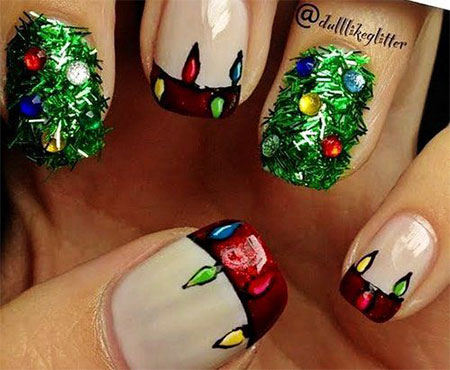 Christmas-Light-Nail-Art-Designs-Ideas-2013-2014-X-mas-Nails-3
