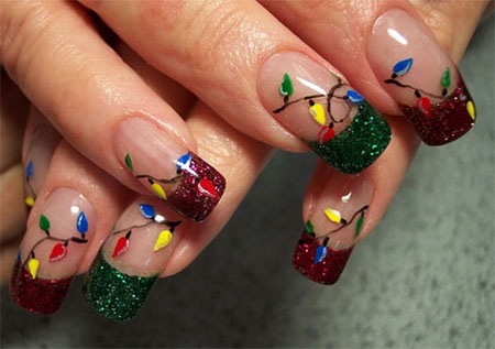 Christmas-Light-Nail-Art-Designs-Ideas-2013-2014-X-mas-Nails-7