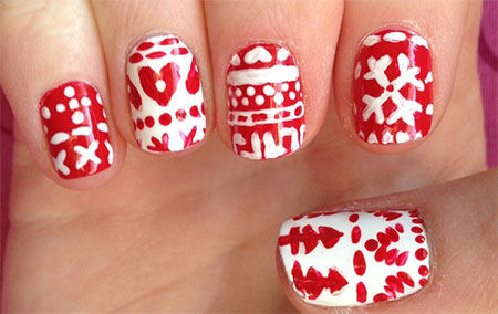 Christmas-Sweater-Nail-Art-Designs-Ideas-2013-2014-X-mas-Nails-8