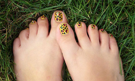 Cool-Pretty-Toe-Nail-Art-Designs-Ideas-For-Beginners-Learners-2013-2014-5
