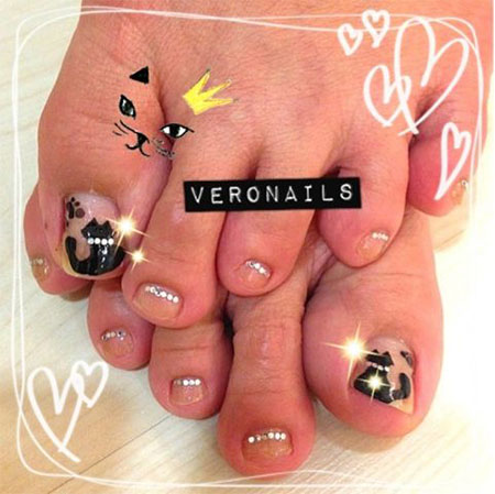 Cool-Pretty-Toe-Nail-Art-Designs-Ideas-For-Beginners-Learners-2013-2014-7