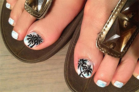 Cool pretty toe nail art designs ideas for beginners cool pretty toe nail art designs ideas for prinsesfo Image collections