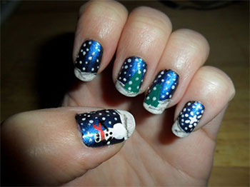 cool winter nail art designs ideas for girls little girl nail design ideas