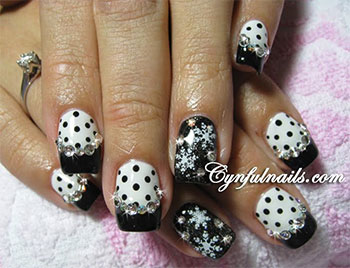 Creative-Winter-Nail-Art-Designs-Ideas-For-Girls-2013-2014-1
