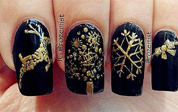 Creative-Winter-Nail-Art-Designs-Ideas-For-Girls-2013-2014-8