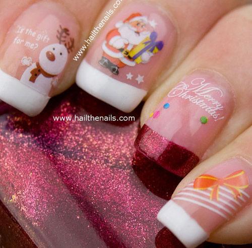 Cute-Easy-Christmas-Nail-Art-Designs-Ideas-2013-2014-7