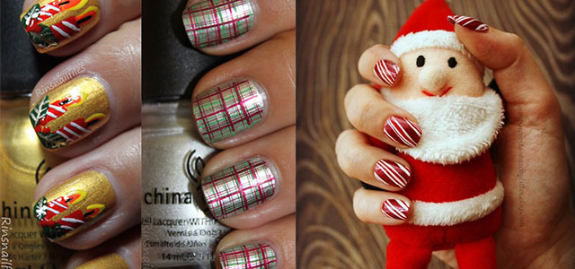 Cute-Easy-Christmas-Nail-Art-Designs-Ideas-2013-2014
