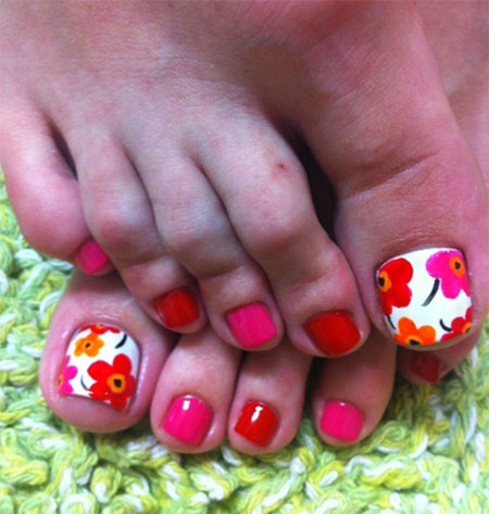 Cute toe nail art designs ideas for toes 2013 2014 fabulous cute toe nail art designs ideas for toes prinsesfo Images