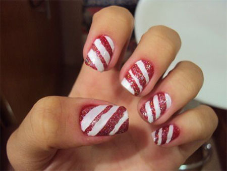 Easy-Christmas-Nail-Art-Designs-Ideas-2013-2014-X-mas-Nails-3