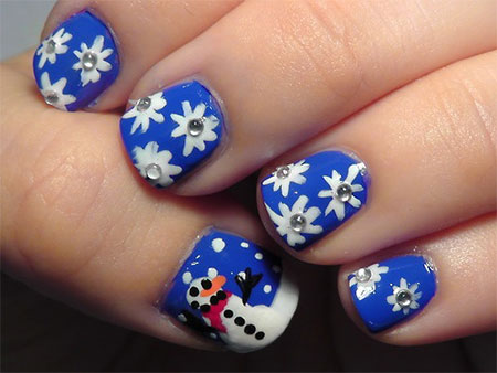 easy christmas nail art designs  ideas 2013/ 2014  x mas