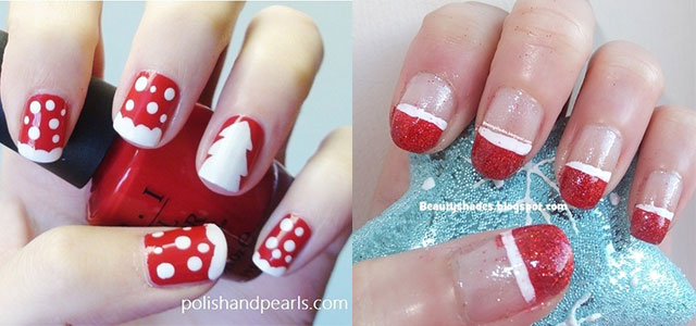 Easy Christmas Nail Art Designs & Ideas 2013/ 2014 | X mas Nails | Fabulous Nail  Art Designs - Easy Christmas Nail Art Designs & Ideas 2013/ 2014 X Mas Nails