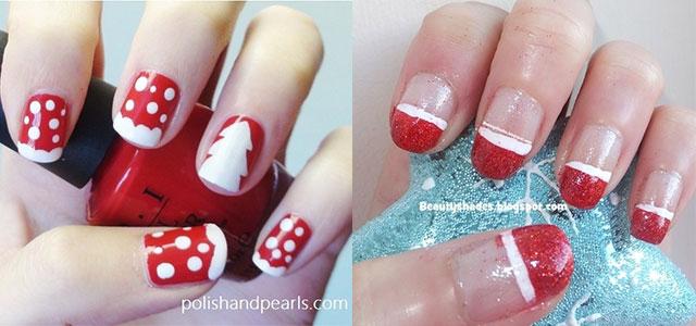 Xmas nail designs easy best nails 2018 easy christmas nail art designs ideas 2016 x mas nails prinsesfo Image collections
