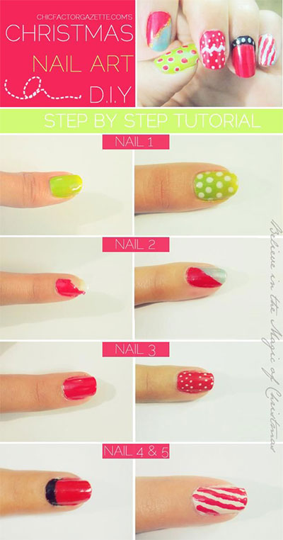Easy-Christmas-Nail-Art-Tutorials-2013-2014-X-mas-Nails-3