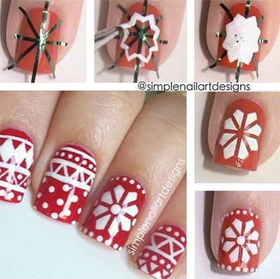Easy-Christmas-Nail-Art-Tutorials-2013-2014-X-mas-Nails-6