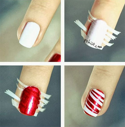 Easy christmas nail art tutorials 2013 2014 x mas nails easy christmas nail art tutorials 2013 2014 x prinsesfo Gallery