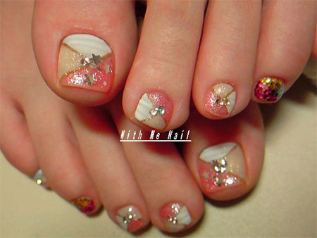 Toe Nail Designs Ideas nice toenail design ideas do it yourself toenail design ideas Easy Cute Toe Nail Art Designs Ideas 2013