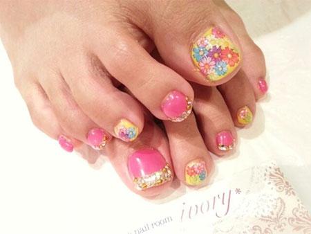 Easy-Cute-Toe-Nail-Art-Designs-Ideas-2013-2014-For-Beginners-10