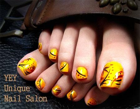 Easy-Cute-Toe-Nail-Art-Designs-Ideas-2013-2014-For-Beginners-11