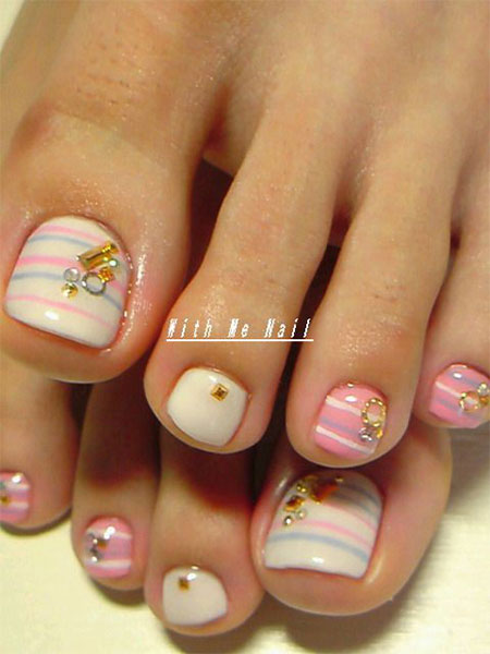 Easy-Cute-Toe-Nail-Art-Designs-Ideas-2013-2014-For-Beginners-13