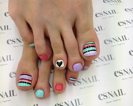 Nail Art Designs Ideas easter toe nail art designs ideas 2014 Easy Cute Toe Nail Art Designs Ideas 2013