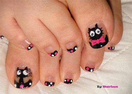 Easy-Cute-Toe-Nail-Art-Designs-Ideas-2013-2014-For-Beginners-3