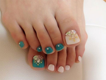 easy cute toe nail art designs ideas 2013 - Toe Nail Designs Ideas