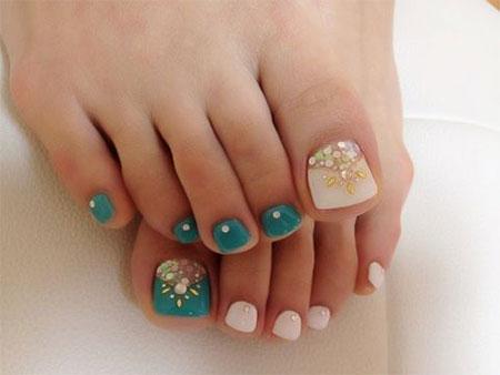 Easy-Cute-Toe-Nail-Art-Designs-Ideas-2013-2014-For-Beginners-5