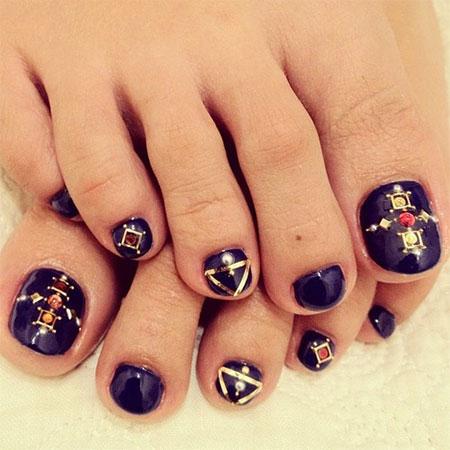 Easy-Cute-Toe-Nail-Art-Designs-Ideas-2013-2014-For-Beginners-7