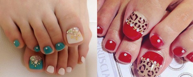 Easy-Cute-Toe-Nail-Art-Designs-Ideas-2013-2014-For-Beginners