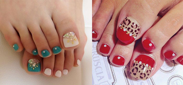 Easy Cute Toe Nail Art Designs Ideas 2013 2014 For Beginners