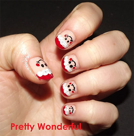 Easy-Santa-Nail-Art-Designs-Ideas-2013-2014-Xmas-Nails-3