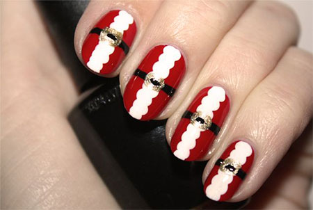 Easy-Santa-Nail-Art-Designs-Ideas-2013-2014-Xmas-Nails-5