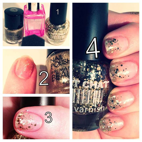 Easy-Simple-New-Year-Nail-Art-Tutorials-2013 -2014-For-Beginners-Learners-5