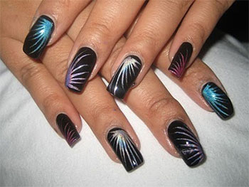 Happy new year nail art designs ideas 20142015 fabulous nail happy new year nail art designs ideas 20142015 prinsesfo Images