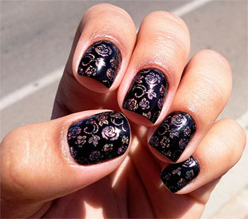 Happy New Year Nail Art Designs Ideas 2014 2015 Fabulous Nail Art Des
