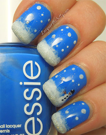 Inspiring Winter Nail Art Designs Ideas For Girls 2013 2014