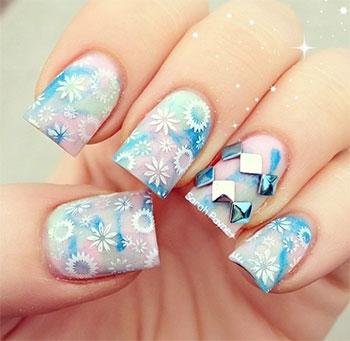 Inspiring Winter Nail Art Designs Ideas For Girls 2013 2014