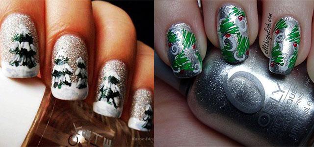 Simple-Easy-Christmas-Nail-Art-Designs-Ideas-2013-2014