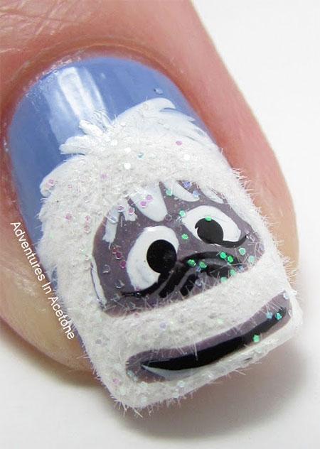 Cute-Easy-Snowman-Nail-Art-Designs-Ideas-2013-2014-15