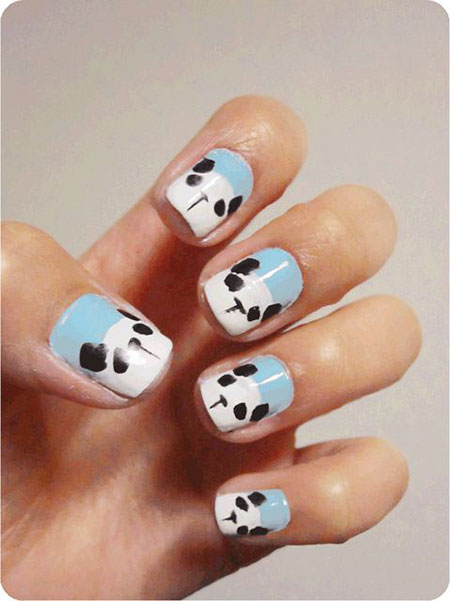 Cute-Panda-Nail-Art-Designs-Ideas-2013-2014-2