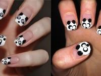 Cute-Panda-Nail-Art-Designs-Ideas-2013-2014