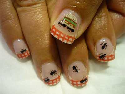 Cute-Zoo-Farm-Animals-Nail-Art-Designs-Ideas-2013-2014-1
