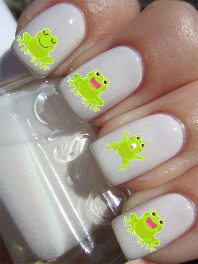 Cute-Zoo-Farm-Animals-Nail-Art-Designs-Ideas-2013-2014-10