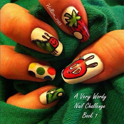 Easy-Farm-Animals-Nail-Art-Designs-Ideas-2013-2014-10